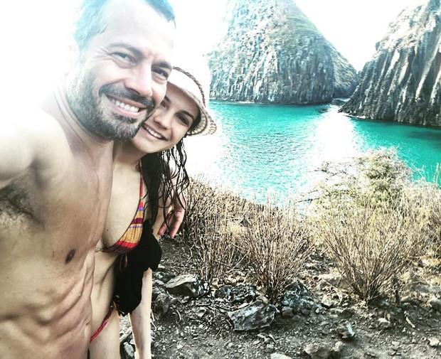 Malvino Salvador e Kyra Gracie (Foto: Instagram / Reprodução)