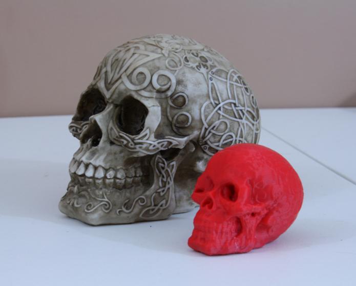 Projeto real e impresso com projeto elaborado pela Atlas 3D (Foto: Divulgação/Murobo)