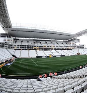 Corinthians X Atlético-mg, Arena Corinthians (Foto: Marcos Ribolli)
