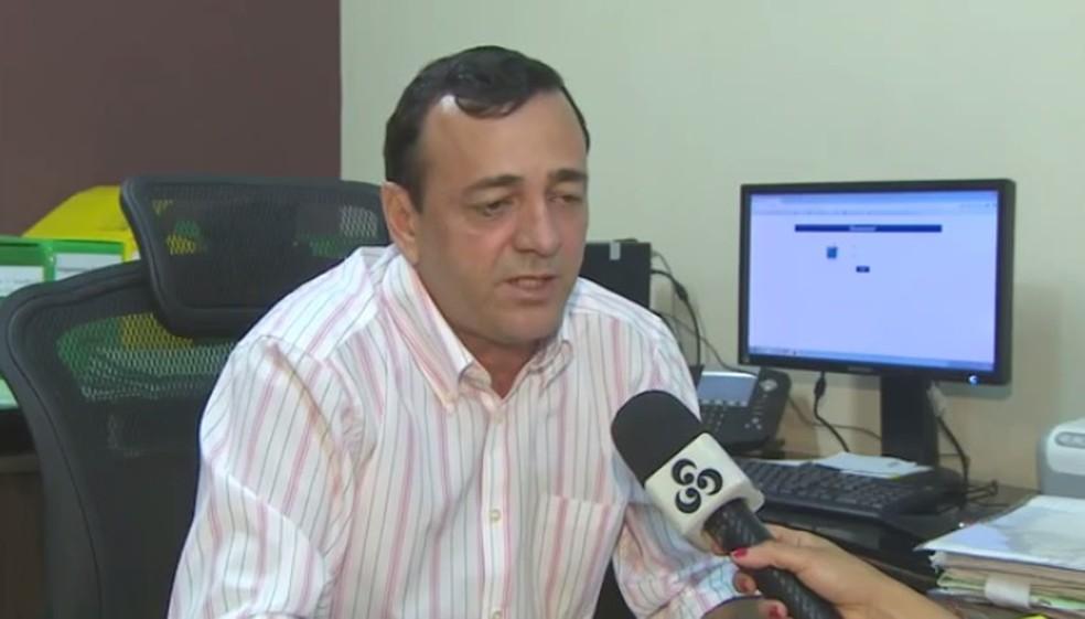 Leonardo Melo, superintendente do Ibama no Amapá (Foto: Reprodução/Rede Amazônica)
