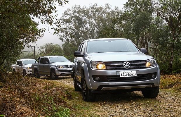 Volkswagen Amarok (Foto: Pedro Danthas/Volkswagen)