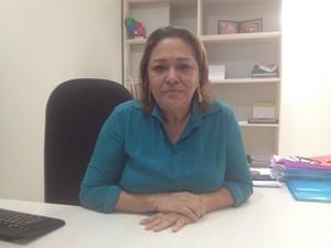 Secretária municipal de Macapá, Dalva Figueiredo (Foto: Abinoan Santiago/G1)