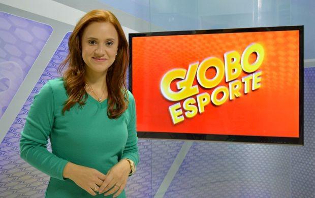 Karina Quadros é a nova apresentadora do Globo Esporte em Rondônia (Foto: Angelina Ayres Medeiros/Rede Amazônica)
