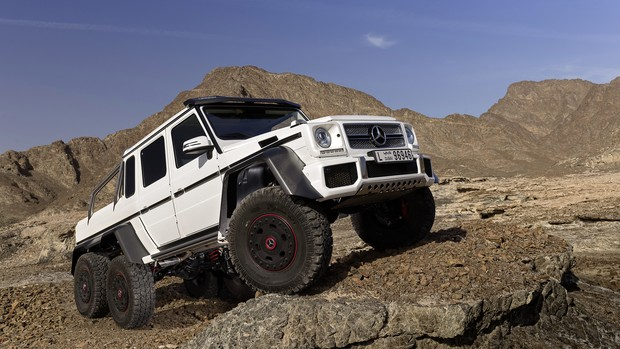 FOTOS: Mercedes-Benz G63 AMG 6x6