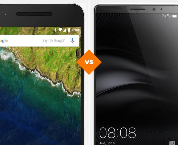 Nexus 6P ou Mate 8? Confira qual smart Android é a melhor opção (Foto: Arte/TechTudo)