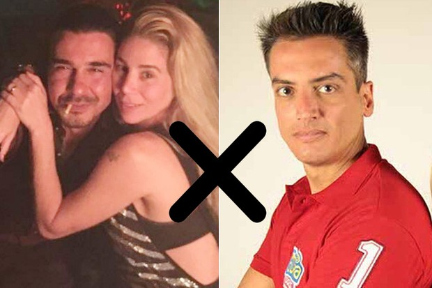 André Gonçalves ,Danielle Winits e Léo dias (Foto: Instagram / Reprodução)