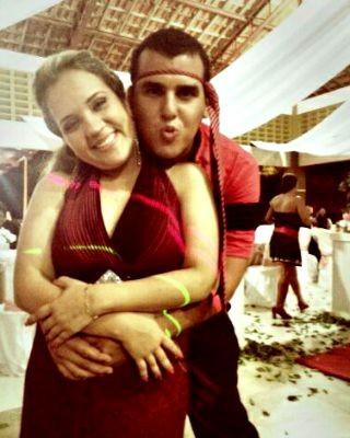 Cardoso e Vanessa estão há dois anos juntos e querem casar  (Foto: Arquivo pessoal )