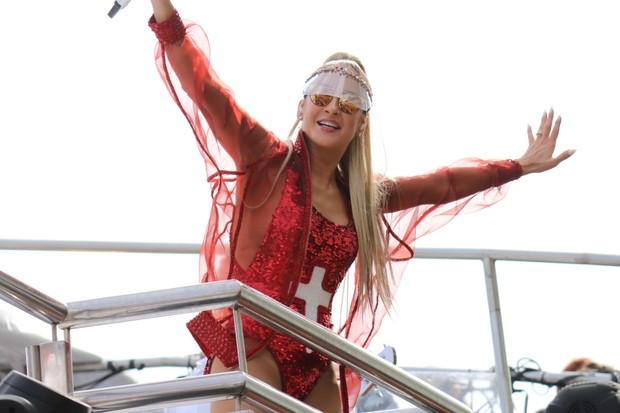 Claudia Leitte no Carnaval de Salvador (Foto: Fábio Moreno/Agnews)