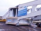 Rodovia Bandeirantes 'fecha' para o transporte de carga de 320 toneladas
