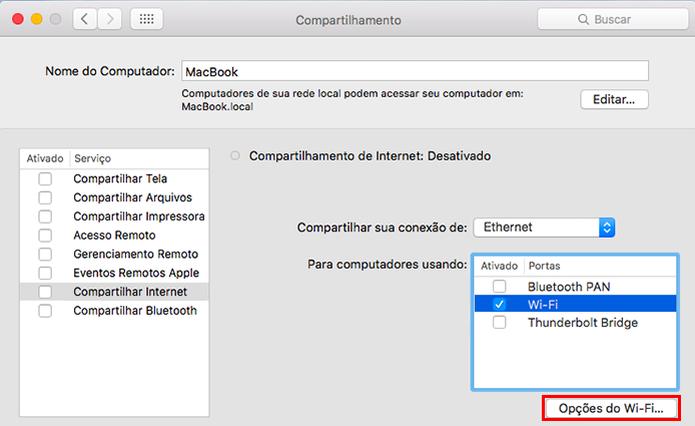 Acesse as opções da rede Wi-Fi (Foto: Reprodução/Paulo Alves)
