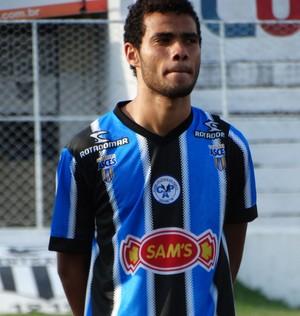 zagueiro Alisson (Foto: Vital Florêncio / GloboEsporte.com)