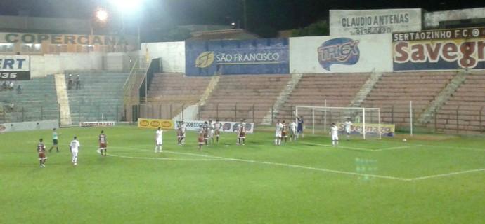 Sertãozinho x Itapirense, Série A3 Campeonato Paulista (Foto: Bruno Ardenghi)