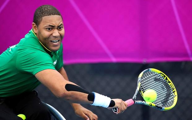 daniel rodrigues tenis sentado paralimpiadas londres 2012 (Foto: Luciana Vermell/CPB)