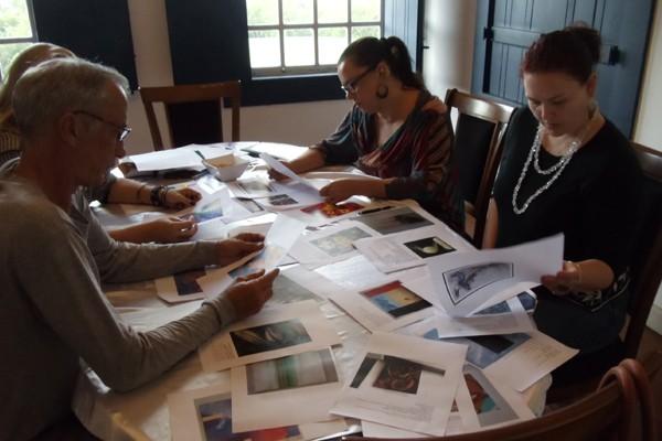 A vernissage das 20 obras selecionadas para a Galeria Rio Sul 2014 vai acontecer dia 29 de maio (Foto: Milena Bernardo)