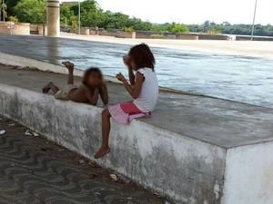 Segundo relatos, entre os acampados há crianças (Foto: Arquivo pessoal)