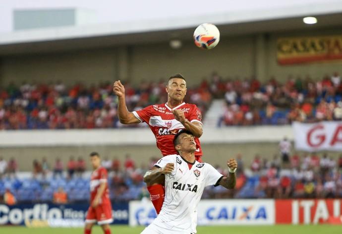 CRB x Vitória, no Rei Pelé (Foto: Ailton Cruz/Gazeta de Alagoas)