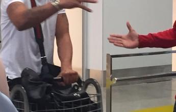 Adriano desembarca no Rio de Janeiro e pode abandonar o Miami United
