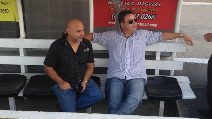 Chico Noé e João Tavares (Foto: Patrícia Costa / GloboEsporte.com)