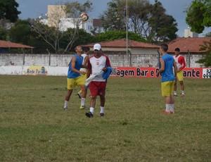 Robson Ferreira, treinador do time sub-19 do Auto Esporte (Foto: Edgley Lemos / GloboEsporte.com/pb)