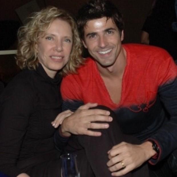 Marília Gabriela e Reynaldo Gianecchini (Foto: Instagram)