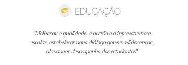 Educação Sartori (Foto: Reprodução)