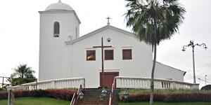 Construída por escravos, Igreja do Rosário é símbolo de fé e devoção (Carlos Palmeira/ G1)