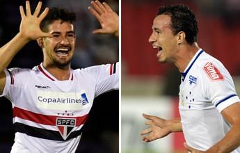 Em ascensão, São Paulo e Cruzeiro iniciam mata-mata da Libertadores