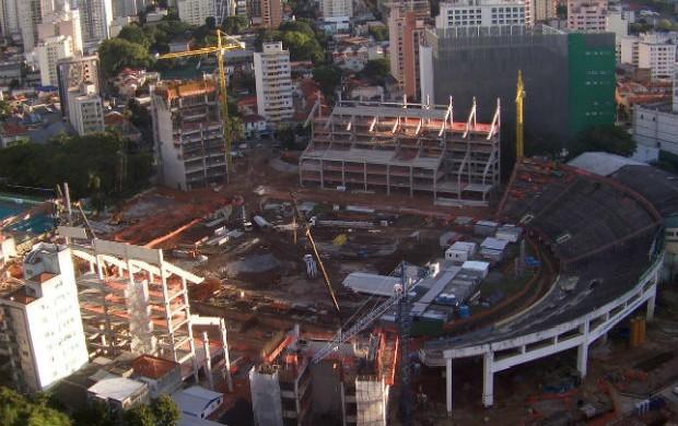 Foto da Arena Palestra (Foto: Divulgação / WTorre)