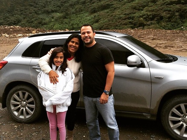 Hélio Aragão fez a viagem até Cusco com a família de carro (Foto: Arquivo pessoal)