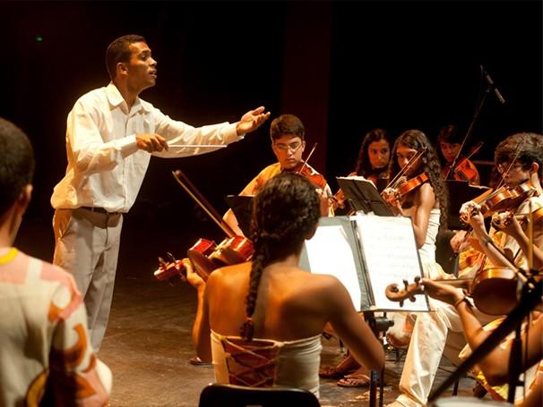 Projeto Santo Antônio de Música leva música clássica para o sertão da Bahia (Foto: Divulgação/ Mila Petrillo)