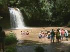 Com crise, número de turistas diminui na alta temporada de Águas da Prata