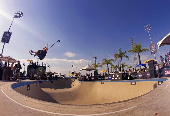 Pedro Barros etapa Rio Mundial de Skate Bowl (Foto: Agif/Divulgação)