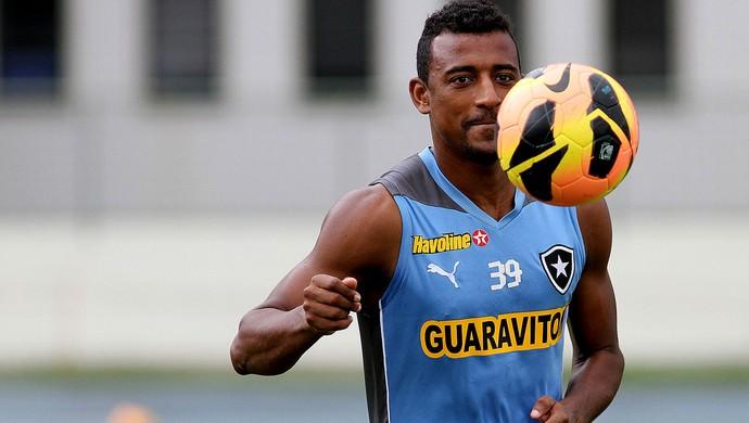 Elias botafogo treino (Foto: Vitor Silva / SSPress)