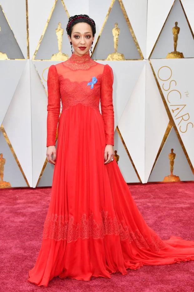Ruth Negga no Oscar 2017 (Foto: Getty Images)