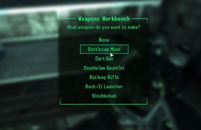 Como criar e reparar armas em Fallout 3 no PC, PS3 e Xbox 360 ... on