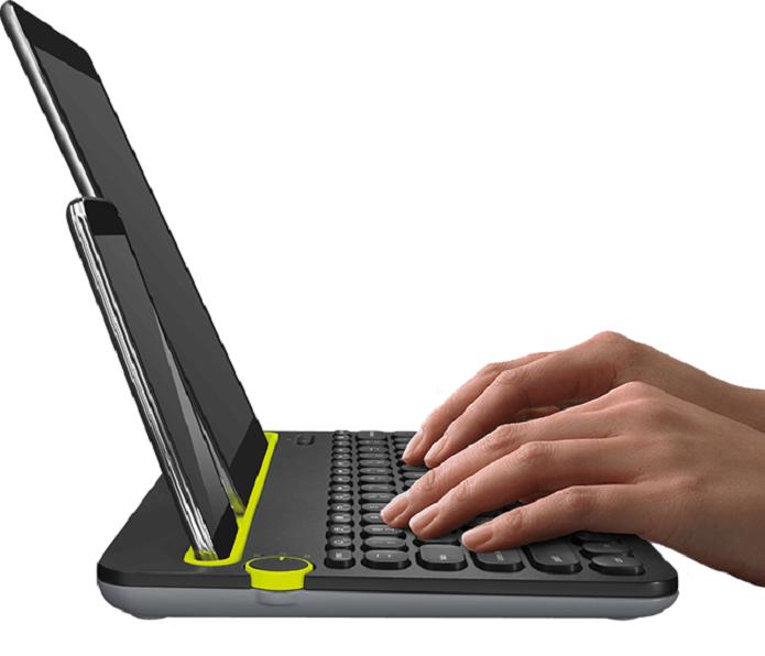 Com este teclado bluetooth você pode acoplar o seu celular ou tablet (Foto: Divulgação/Logitech)