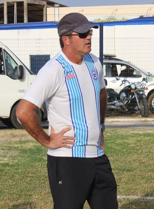 Paulo Moroni, técnico do Parnahyba (Foto: Josiel Martins)