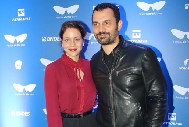 Leandra Leal e Alê Youssef (Foto: Fabio Moreno/AgNews)