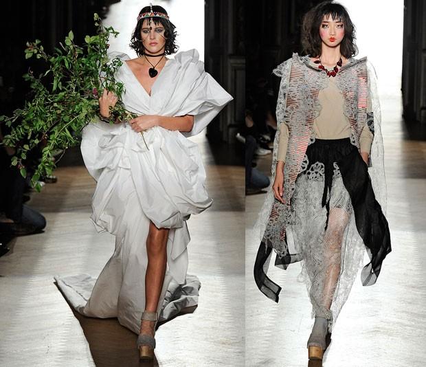 Desfile de Vivienne Westwood primavera vero 2015 Paris (Foto: Getty Images)