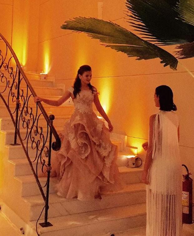 Luana Marquezine e Bruna Marquezine (Foto: Reprodução)