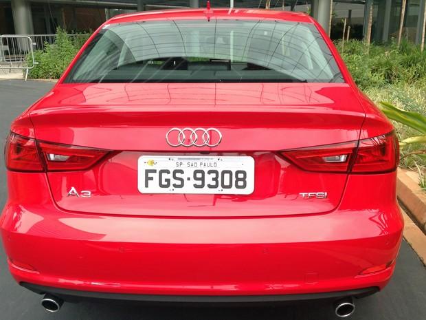 Audi A3 Sedan 2.0 Ambition (Foto: André Paixão/G1)