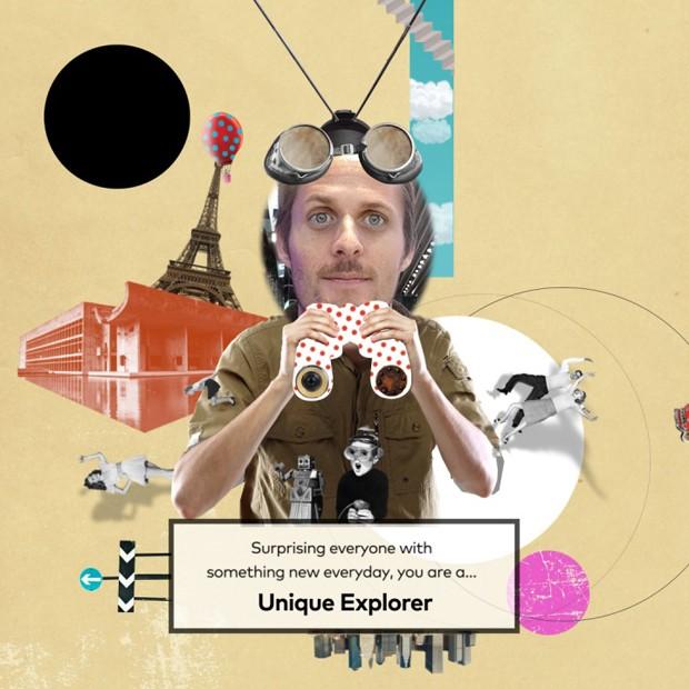 Dimitri recebeu o título de Unique Explorer em experiência digital (Foto: Reprodução)