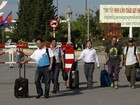 Centenas de chineses fogem do Vietnã e entram no Camboja