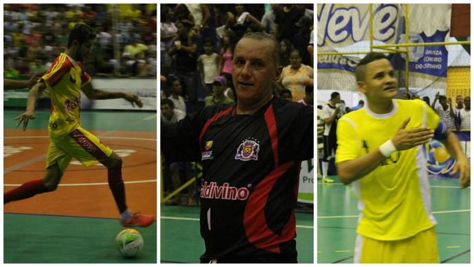 Reforços Curaçá, Copa TV Grande Rio de Futsal (Foto: Montagem GloboEsporte.com)