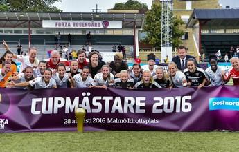 Marta faz gol, dá duas assistências e garante título do Rosengard na Suécia
