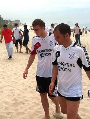 Frank de boer ajax praia (Foto: Marcio Iannacca / Globoesporte.com)