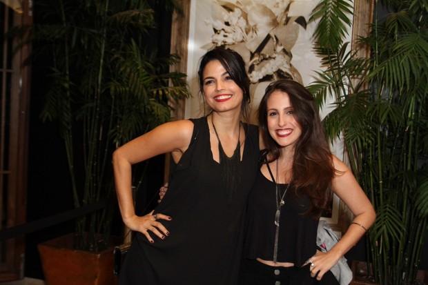 Emanuelle Araújo e Luana Martau (Foto: Anderson Borde/AgNews)