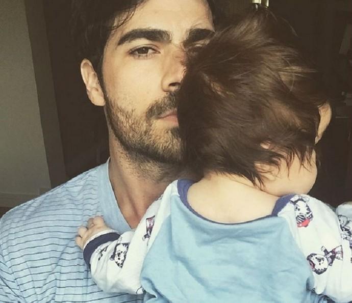 Rodrigão vai comemorar primeiro Dia dos Pais ao lado do filho (Foto: Arquivo Pessoal)