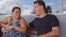 Marcelo Honorato conversa com motoristas no trevo de Monte Alegre (to indo)