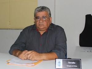 Delegado Antônio Carvalho, do 13º DP em Teresina (Foto: Gilcilene Araújo/ G1)